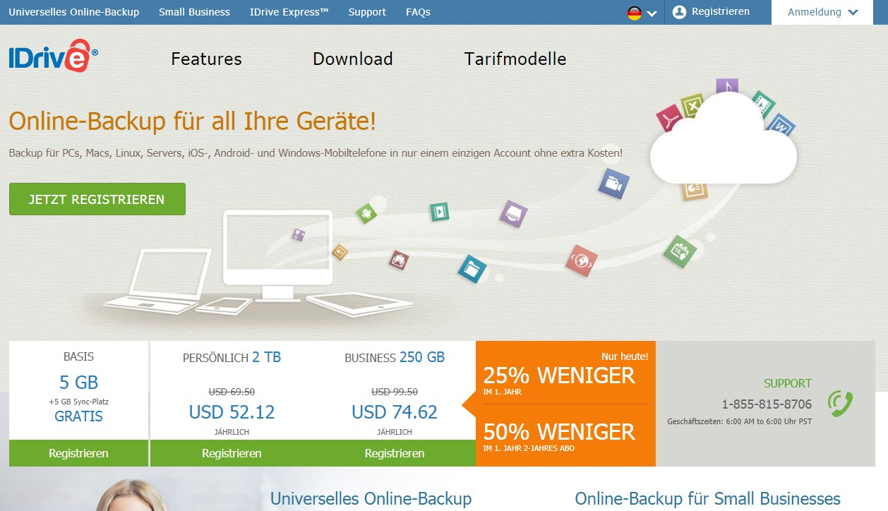 iDrive NAS Online Backup